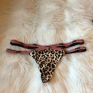 Strappy leopard 🐆 thong